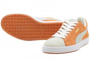 PUMA SUEDE CLASSIC x BOBBITO - BURNT ORANGE-PUMA WHITE