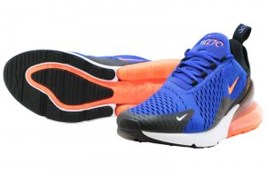 NIKE AIR MAX 270 - RACER BLUE/HYPER CRIMSON