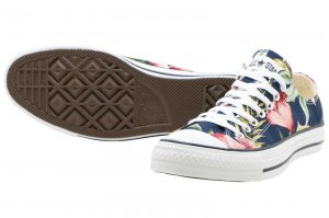 CONVERSE ALL STAR ALOHA ST SLIP OX - NAVY
