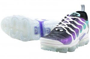 NIKE AIR VAPORMAX PLUS - WHITE/FIERCE PURPLE
