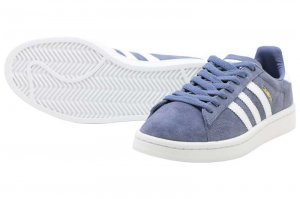 adidas  CAMPUS - RAW INDIGO/FTW WHITE/CRYSTAL WHITE