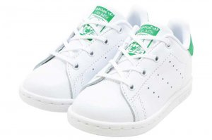 adidas  STAN SMITH I - FTW WHITE/FTW WHITE/GREEN