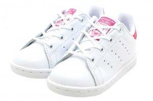 adidas  STAN SMITH I - FTW WHITE/FTW WHITE/BOLD PINK