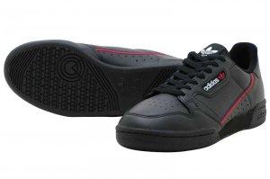 adidas CNTNTL80 アディダス コンチネンタル80 C Black/Scarlet/Collegiate Navy B41672