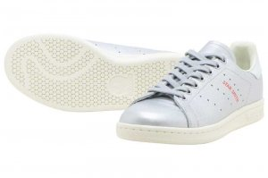 adidas  STAN SMITH W - Silver Metallic/Blue Tint