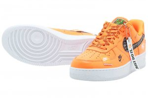 NIKE AIR FORCE 1 07 PRM JDI - TOTAL ORANGE/TOTAL ORANGE-BLACK