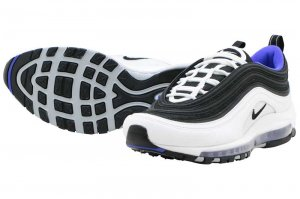 NIKE AIR MAX 97 - WHITE/BLACK-PERSIAN VIOLET
