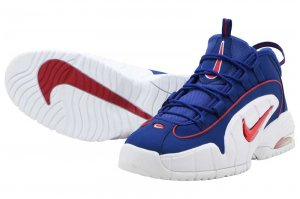 NIKE AIR MAX PENNY - DEEP ROYAL BLUE/GYM RED-WHITE