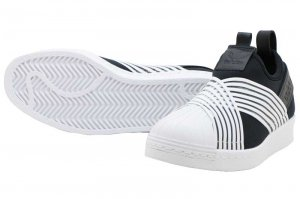 adidas SUPERSTAR SLIPON W - Core Black/Running White/Running White