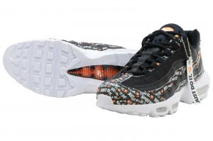 NIKE AIR MAX 95 SE - BLACK/BLACK-WHITE