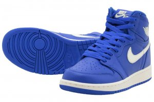 NIKE AIR JORDAN 1 RETRO HIGH OG BG - HYPER ROYAL/SAIL