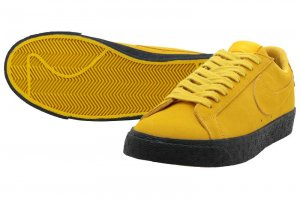 NIKE SB BLAZER ZOOM LOW - YELLOW OCHRE/YELLOW OCHRE-BLACK