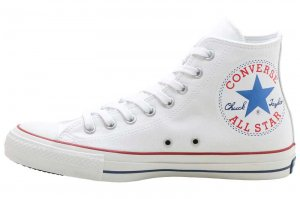 CONVERSE ALL STAR 100 HUGEPATCH HI - WHITE