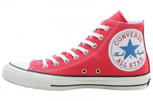 CONVERSE ALL STAR 100 HUGEPATCH HI - RED
