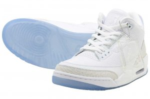 NIKE AIR JORDAN 3 RETRO - WHITE/WHITE-WHITE