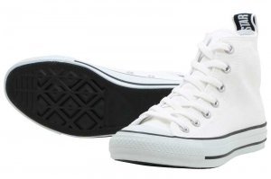 CONVERSE ALL STAR LOGOTAPE HI - WHITE