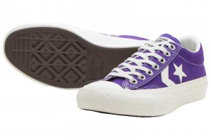 CONVERSE CANVAS CHEVRONSTAR OX - PURPLE