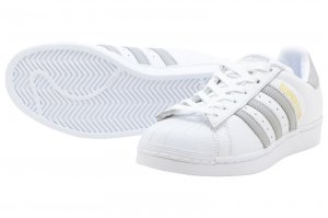 adidas Originals SUPERSTAR W - Running White/Grey Two