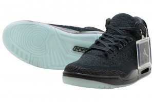 NIKE AIR JORDAN 3 RETRO FLYKNIT - BLACK/BLACK-ANTHRACITE