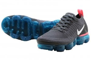 NIKE W AIR VAPORMAX FLYKNIT 2 - THUNDER GREY/WHITE-GEODE TEAL