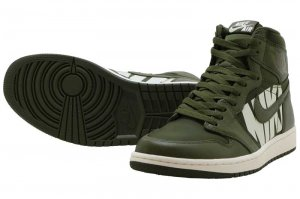 NIKE AIR JORDAN 1 RETRO HIGH OG - OLIVE CANVAS/SAIL