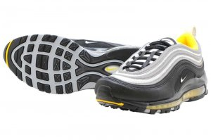 NIKE AIR MAX 97 - BLACK/WHITE-AMARILLO