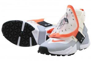 NIKE AIR HUARACHE GRIPP QS - SAIL/TEAM ORANGE-WHITE