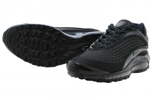 NIKE AIR MAX DELUXE - BLACK/DARK GREY