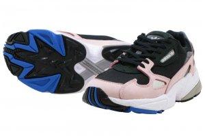 adidas FALCON W - Core Black/Core Black-Light Pink