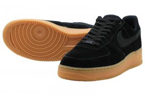 NIKE AIR FORCE 1 07 LV8 SUEDE - BLACK
