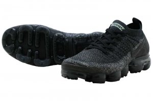NIKE AIR VAPORMAX FLYKNIT 2 - BLACK/BLACK-DARK GREY