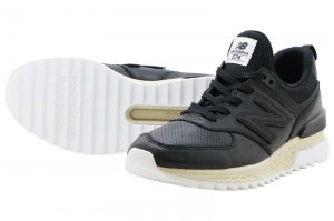 New Balance MS574 LSB - BLACK
