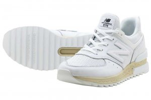 New Balance MS574 LSW - WHITE