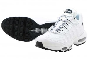 NIKE AIR MAX 95 - WHITE/BLACK-WHITE
