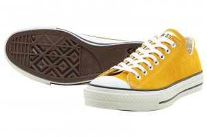 CONVERSE SUEDE ALL STAR J OX - GOLD