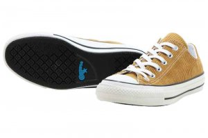 CONVERSE ALL STAR 100 CORDUROY OX - GOLD