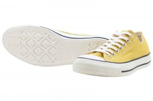 CONVERSE ALL STAR WASHEDCANVAS OX - GOLD