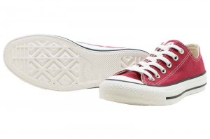 CONVERSE ALL STAR WASHEDCANVAS OX - RED