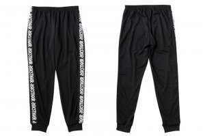 asics Tiger LT JERSEY PANTS - BLACK