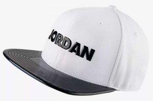 NIKE JORDAN PRO AJ XI SNAPBACK - WHITE/BLACK