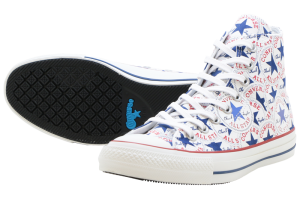 CONVERSE ALL STAR 100 MANYPATCH HI - WHITE