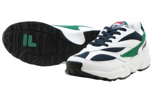 FILA VENOM - WHITE/GREEN/BLACK