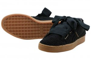 PUMA BASKET HEART TEDDY WNS - BLACK