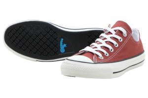 CONVERSE ALL STAR 100 COLORS OX - BRICK RED