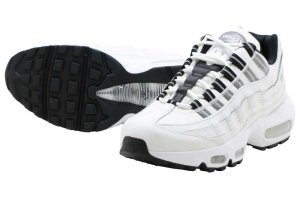 NIKE WMNS AIR MAX 95 - SUMMIT WHITE/REFLECT SILVER