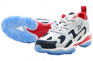 Reebok DMX SERIES 1600 - SKULL GREY/COLLEGE NAVY/PRIMAL RED