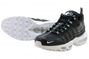 NIKE AIR MAX 95 PRM - BLACK/WHITE-BLACK