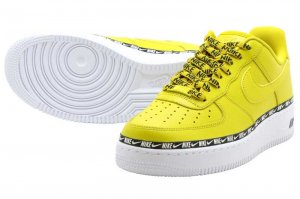 NIKE W AIR FORCE 1 07 SE PRM - BRIGHT CITRON/BRIGHT CITRON-WHITE