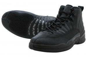 NIKE AIR JORDAN 12 RETRO WNTR - BLACK/BLACK-ANTHRACITE