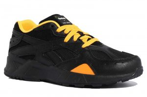 Reebok AZTREK GIGI - BLACK/SOLOR GOLD/CHALK